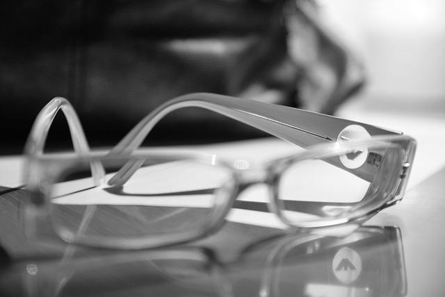 história do óculos